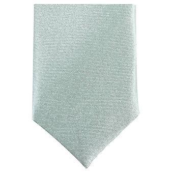 Knightsbridge Neckwear Skinny Polyester Tie - Mint Green