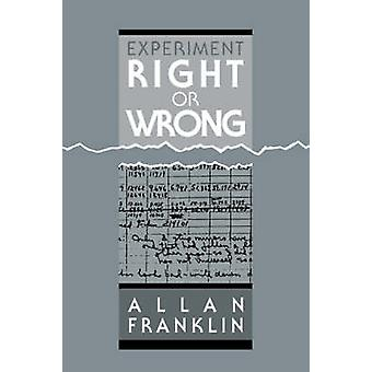 تجربة حق أو خطأ من فرانكلين & ألن