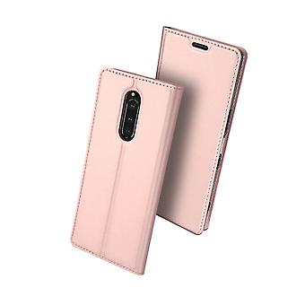 DUX DUCIS Pro Series pouch Sony Xperia 1-RoseGold