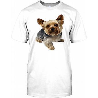 Yorkshire-Terrier Hund-Herren-T-Shirt