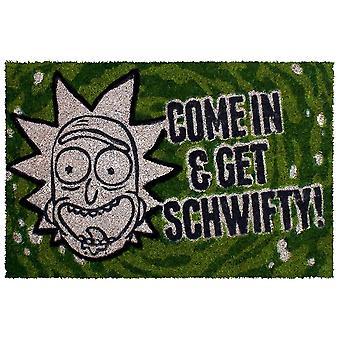 Rick and Morty Get Schwifty Doormat