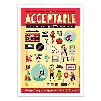 Art-poster-acceptabelt-Nour tohme 50 x 70 cm