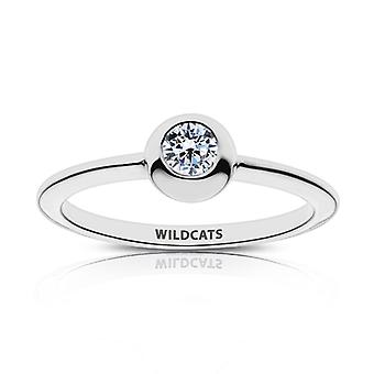 Kansas State University Wildcats Engraved Diamond Ring