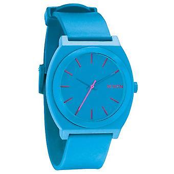 Nixon de tijd-Teller P helder blauwe Uhr (A119606)