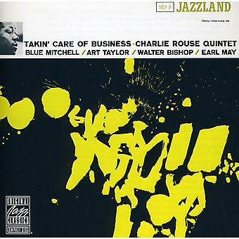 Charlie Rouse Quintet - Takin' Care of Business [CD] USA import