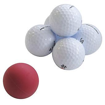 EyeLine Golf bollar av stål Pack 3 förbättra din Putting