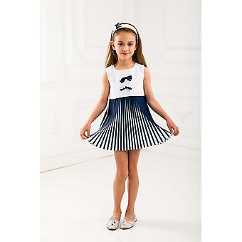 Pleated girl dress