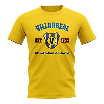 T-shirt da calcio Villarreal Established (giallo)