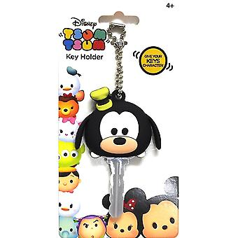 Key cap-Disney-myk touch PVC holder Tsum Tsum goofy 85453