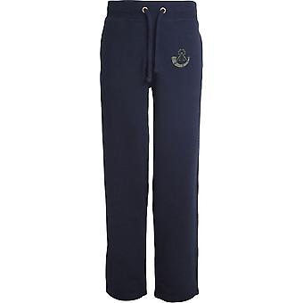Light Infantry - Licensed British Army Embroidered Open Hem Sweatpants / Jogging Bottoms
