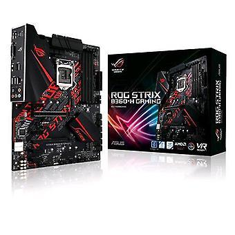 Asus rog strix b360-h placa base atx chipset de juegos b360