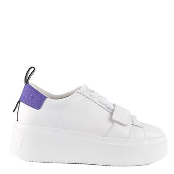 Ash MIRACLE Platform Trainers White & Purple