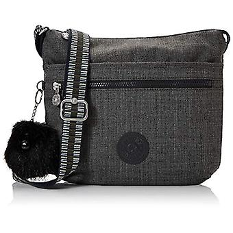 Kipling Black Woman shoulder bag (JEANS GREY G STRAP 37I)) 29x26x4 cm (B x H x T)