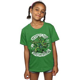 TMNT Girls Respect The Brotherhood T-Shirt