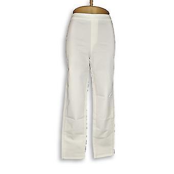 Isaac Mizrahi Live! Women's Pants Stretch White A302696