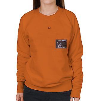 A.P.O.H Salvador Dali I Am Not Strange Quote Women's Sweatshirt
