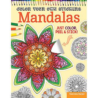 Design Originals-Color Your Own Sticker Mandalas DO-5585