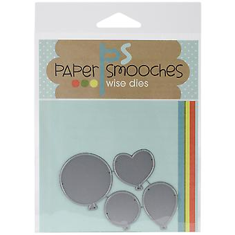 Paper Smooches Die Balloons Fbd119
