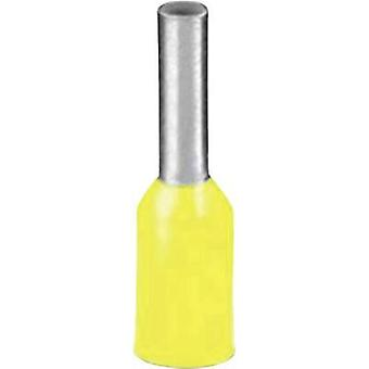Ferrule 1 x 0.25 mm² x 8 mm Partially insulated Yellow Phoenix C