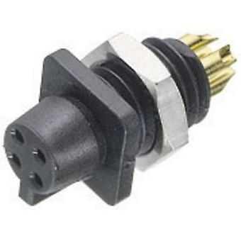 Binder 09-9766-30-04 09-9766-30-04 Sub-miniature Circular Connector Series Nominal current: 3 A Number of pins: 4