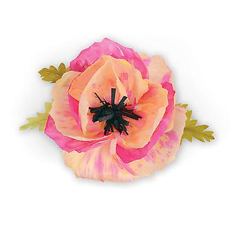Sizzix Thinlits Dies 4/Pkg By Brenda Walton-Large Poppy 661090