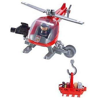 Smoby Abrick Fire Helicopter (Jouets , Constructions , Véhicules)