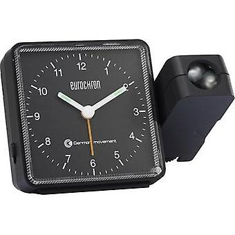 Radio Projection clock analogue Eurochron EFP 505 Black