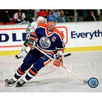 Wayne Gretzky Aktion Fotodruck