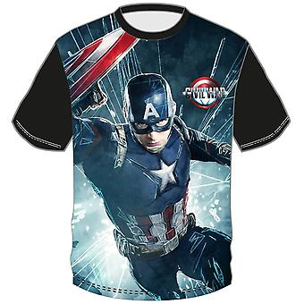 MARVEL | CIVIL WAR | BLACK T-SHIRT | AGE 3