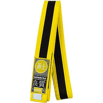 Hayabusa Youth Jiu-Jitsu Belt - Yellow/Black
