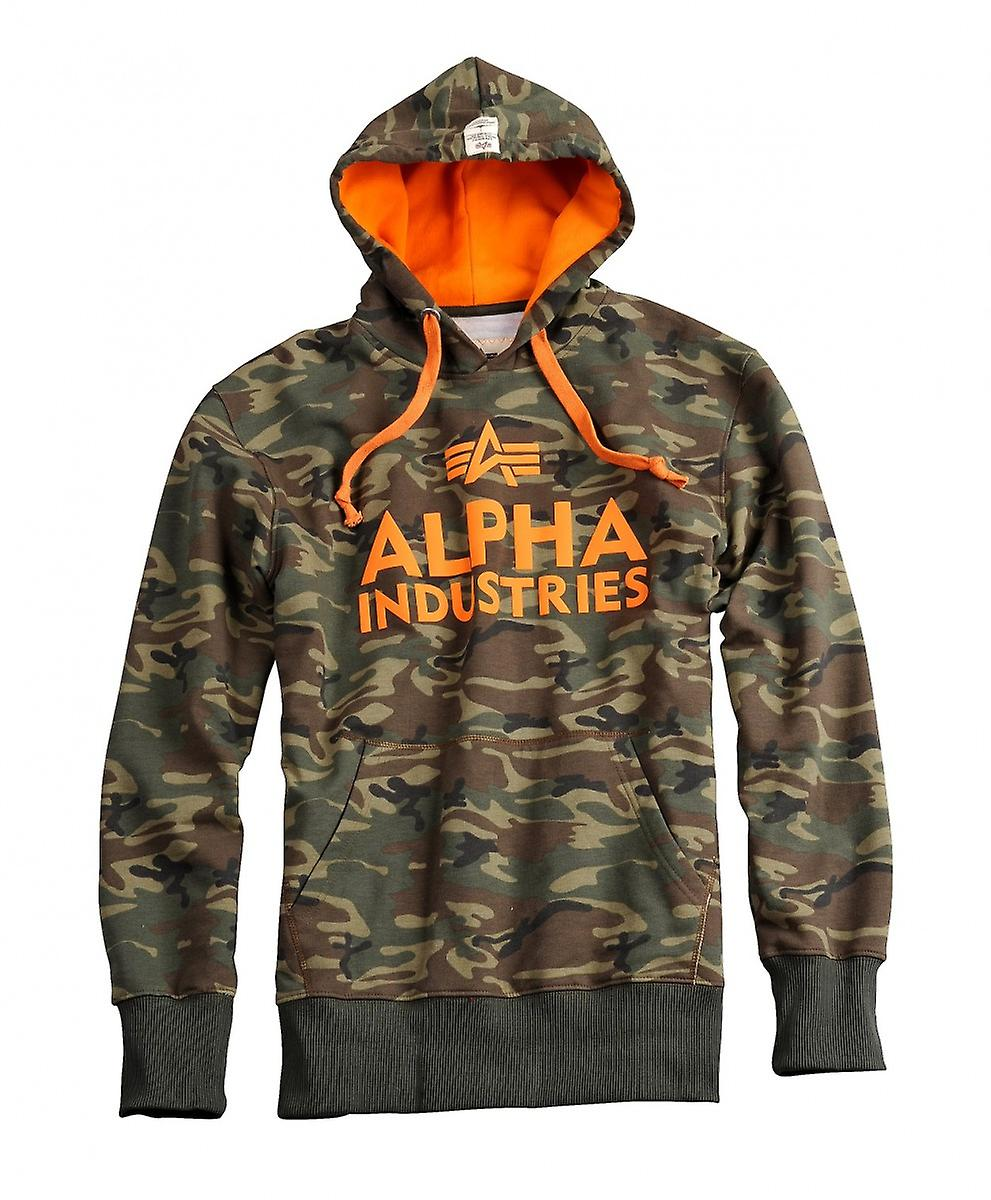 Alpha industries Hoody foam print
