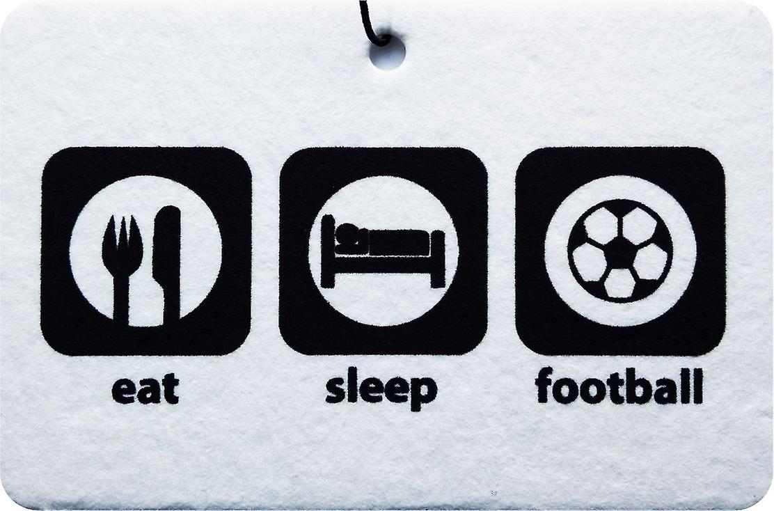 Eat Sleep Football Car Air Freshener