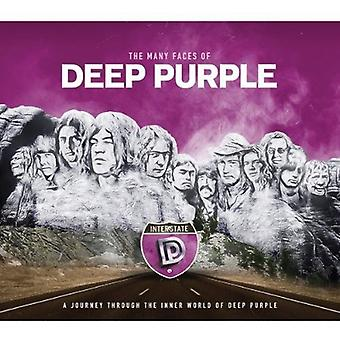 Forskellige kunstnere - mange ansigter af Deep Purple [CD] USA importerer
