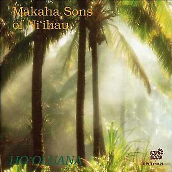 Makaha sønner af Ni'Ihau - Ho'Oluana [CD] USA importerer