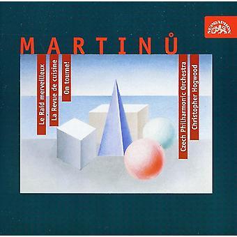 Checa Phil.Orch-Hogwood - Martinu: Raid Le Merveilleux; La Revue De Cuisine; ¡en Tourne! [CD] USA importación