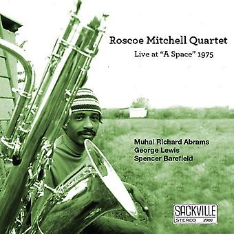 Roscoe Mitchell - Live at a Space 1975 [CD] USA import