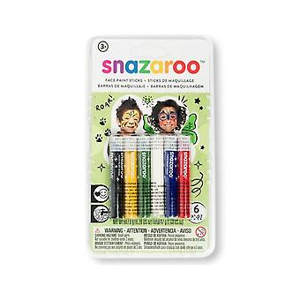 Unisex Face Painting Sticks Kit From Snazaroo