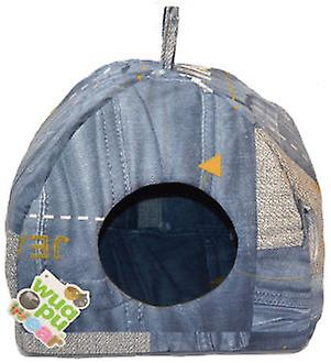 Wuapu Igloo bed T1 Jeans 40X40 (Cats , Bedding , Igloos)