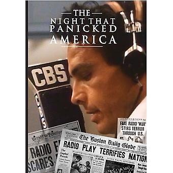 Natten, panik Amerika [DVD] USA importerer