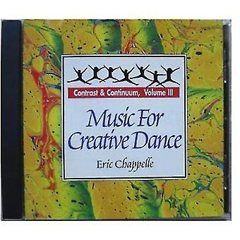 Eric Chappelle - Eric Chappelle: Vol. 3-musikk for kreativ dans [DVD] USA import