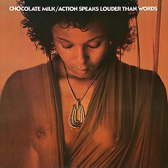 Chokolade mælk - handling taler højere end ord [CD] USA importerer