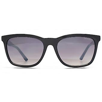Animal Slider Casual Square Plastic Sunglasses In Black On Blue