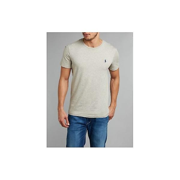 Polo Ralph Lauren Jersey Cotton Crew-Neck T-Shirt, Heather Grey
