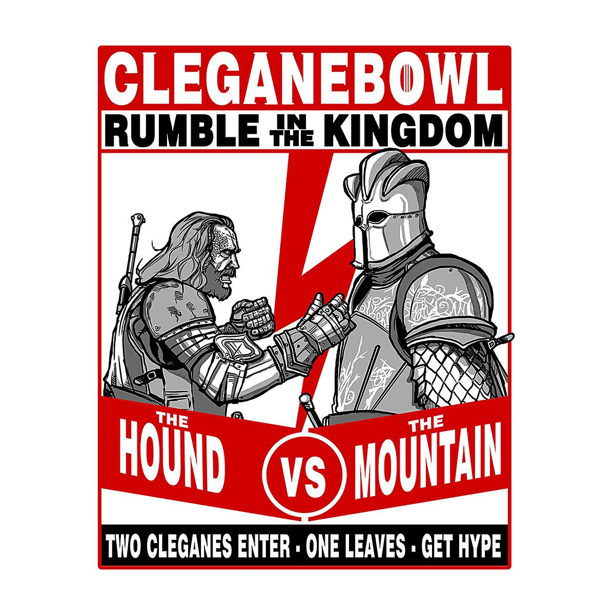 Rumble In The Kingdom The Hound Vs The Mountain Game Of Thrones Kid's T-Shirt