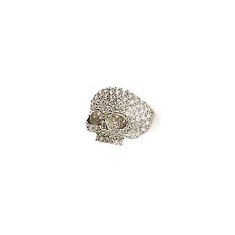 W.A.T Sterling Silver Skull Ring