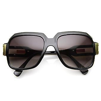Große Klassiker Retro Square Rahmen Hip Hop Hip Hop Sonnenbrillen