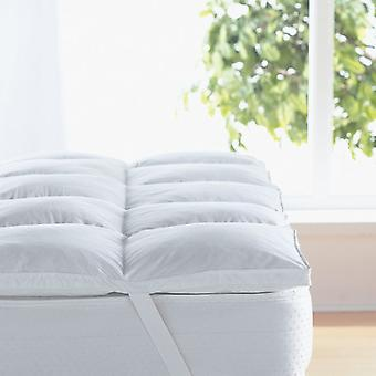 Perfekter Komfort Matratze Enhancer Baumwolle/Microfaser