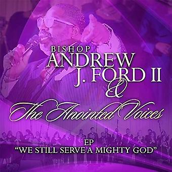 Biskop Andrew J. Ford II - vi fortsatt tjene en mektig Gud EP [DVD] USA import