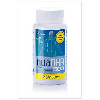 Nua Nuadha 500 30Cap.mast.limon (Vitamins & supplements , Omegas & fatty acids)