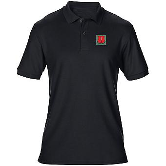 School Of Infantry Embroidered Logo - Official British Army Mens Polo Shirt